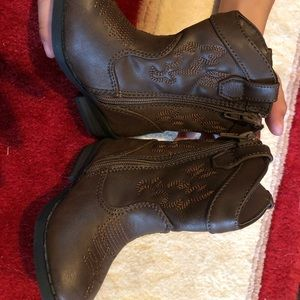 Cat & Jack toddler cowboy boots size 4